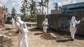 与时间赛跑——中国救援队成为莫桑比克灾后防疫重要力量