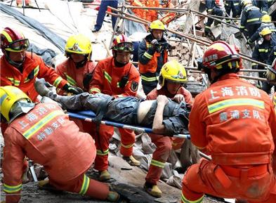 上海市长宁区一厂房坍塌事故