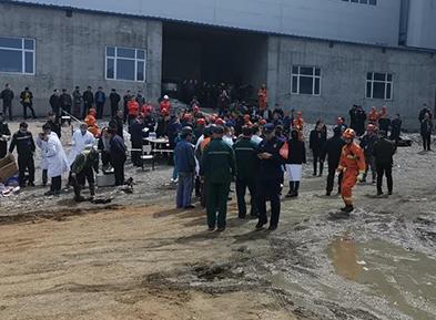 黑龙江逊克县一铁矿发生透水事故19人被困