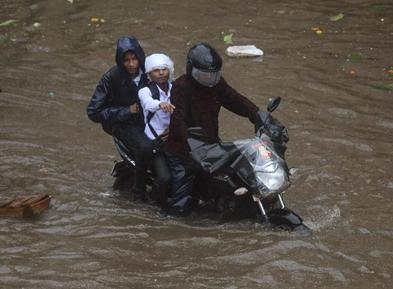 印度3个多月来至少有1422人死于洪灾