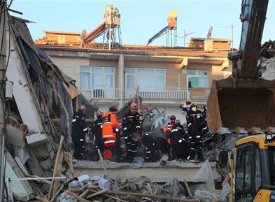 土耳其东部地震造成至少20人死亡