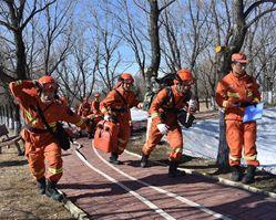 实战化练兵 黑龙江森林消防开展摸底考核