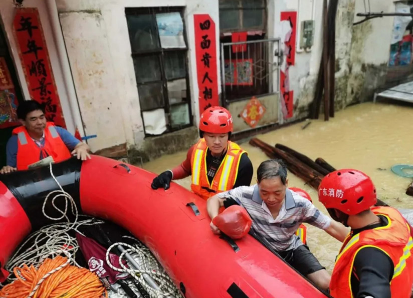 """""""龙舟水""""持续发威,救援仍在继续...."""