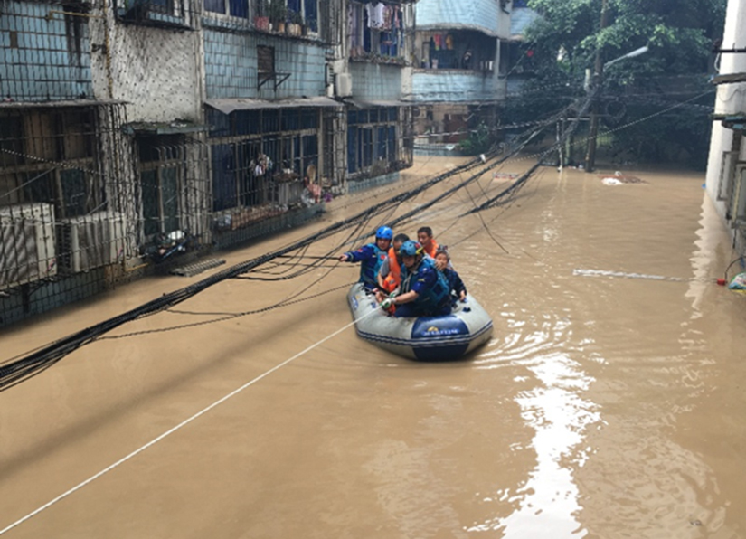 社会应急力量积极参与重庆、湖北、河南、贵州等地抢险救援行动