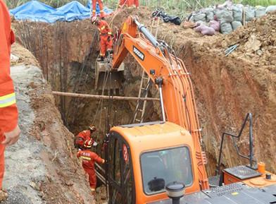 广西在建基坑塌方3人遇难,汛期这类作业要小心!