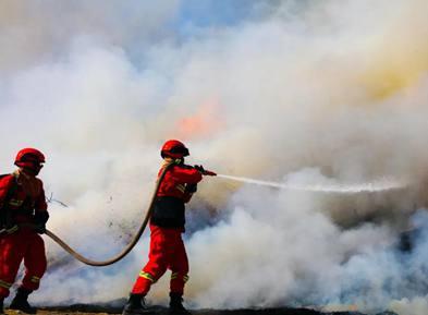 森林草原防灭火进行时