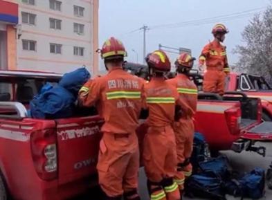 四川消防救援总队:开展2021年首次地震救援跨区域拉动演练