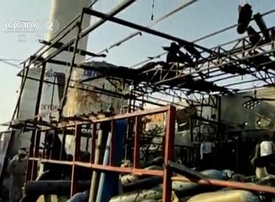 印度一制氧厂发生剧烈爆炸 已致3死8伤