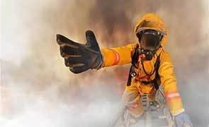 请大家放心!我们是中国的消防员
