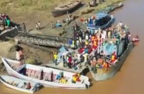 中国救援队赴莫桑比克实施跨国救援惊心动魄的瞬间