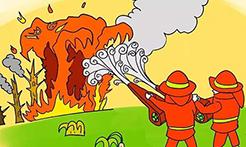 烟头引发山火,山东烟台一男子被大面积烧伤并面临刑罚