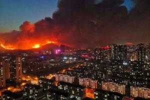 青岛小珠山火灾系违规焊接引发 5人被采取强制措施