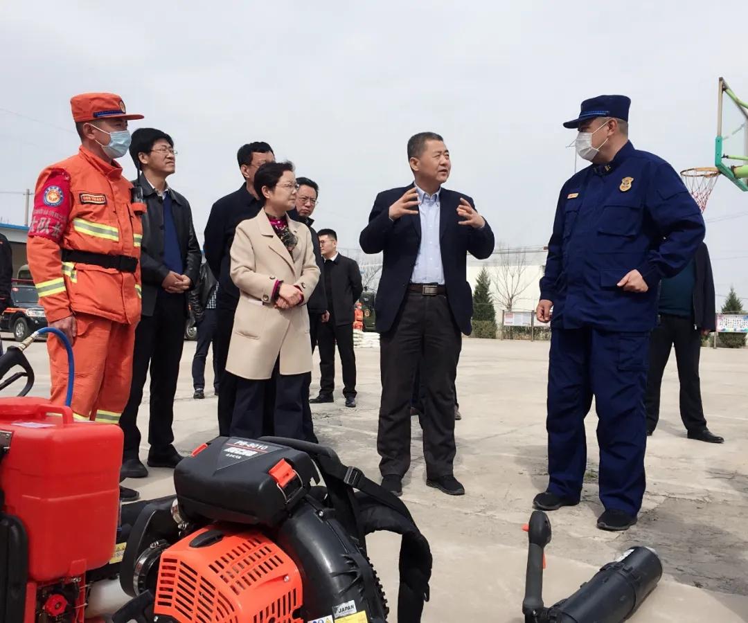 陕西省多措并举抓牢森林草原防灭火工作