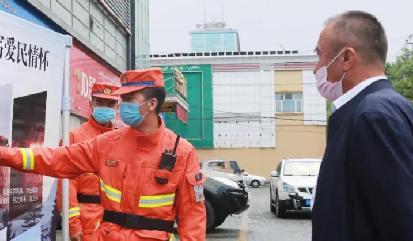 新疆森林消防深入各地开展防火宣传
