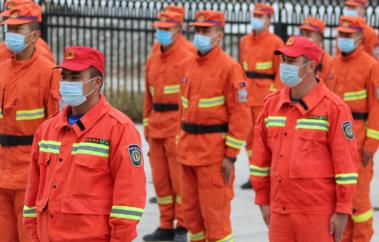 备战秋防 新疆巴州森林消防靠前驻防守护重点林区