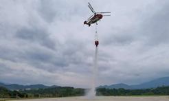 直升机救援一小时内可达,广东构筑森林火灾立体防控网