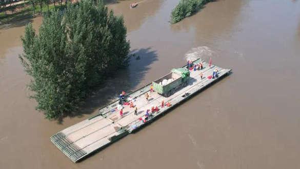 出发,首趟抗洪抢险专列!新•救援力量快速投送方式!